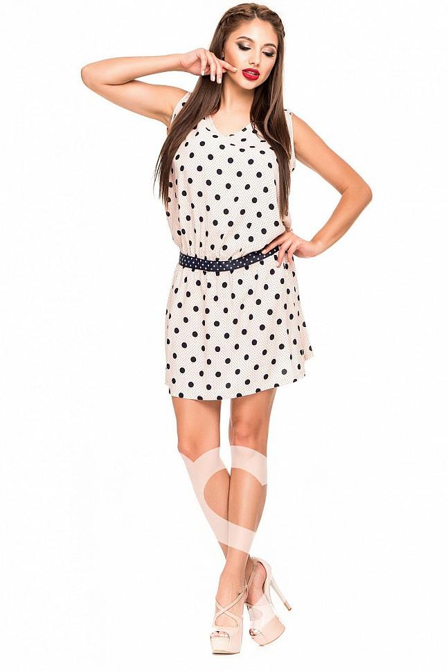 45034c30c8d Платье в горох в интернет магазине Женское платье в горошек на IssaPlus ...