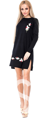 6a2257e4121 Теплые женские платья на зимний сезон 2017 года - блог Issa Plus