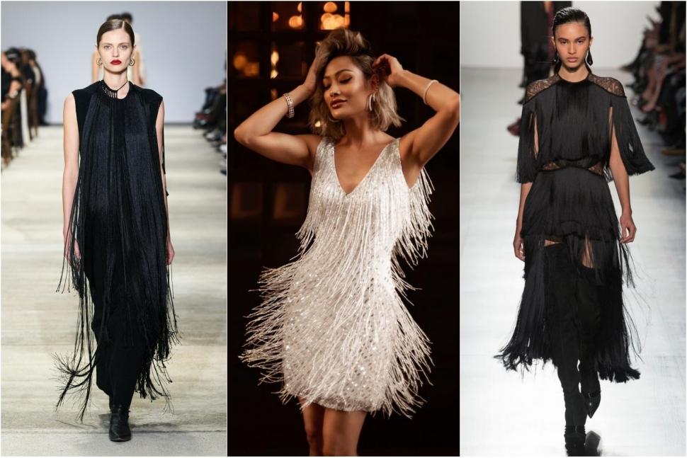 Модні сукні з торочками - блог Issaplus