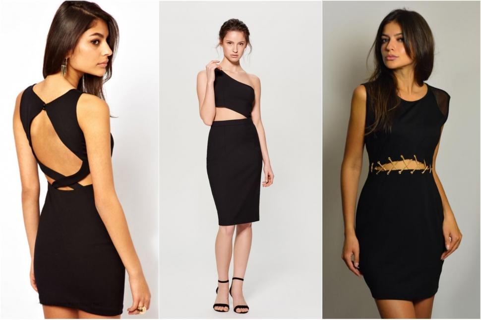 Модні сукні з вирізами на талії - блог Issaplus