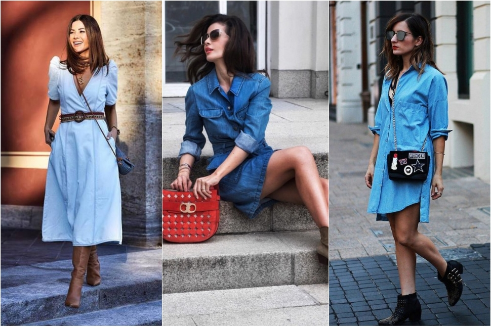 Джинсова сукня - блог Issaplus