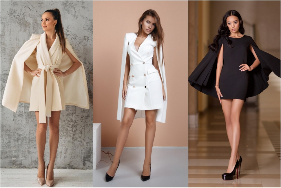 Сукні-кейпи - блог Issaplus