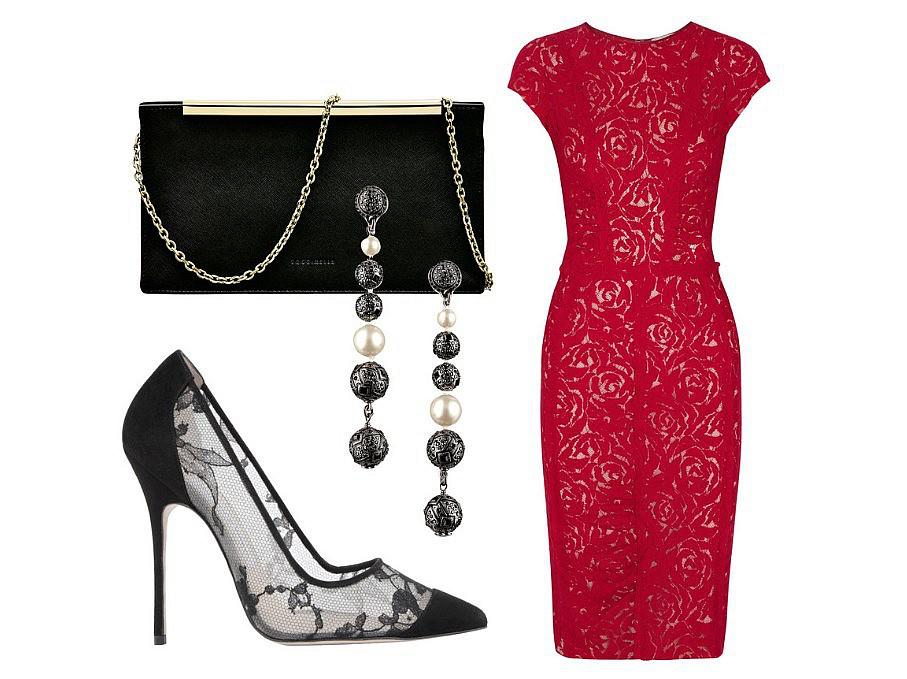 черное платье с туфлями картинки тех