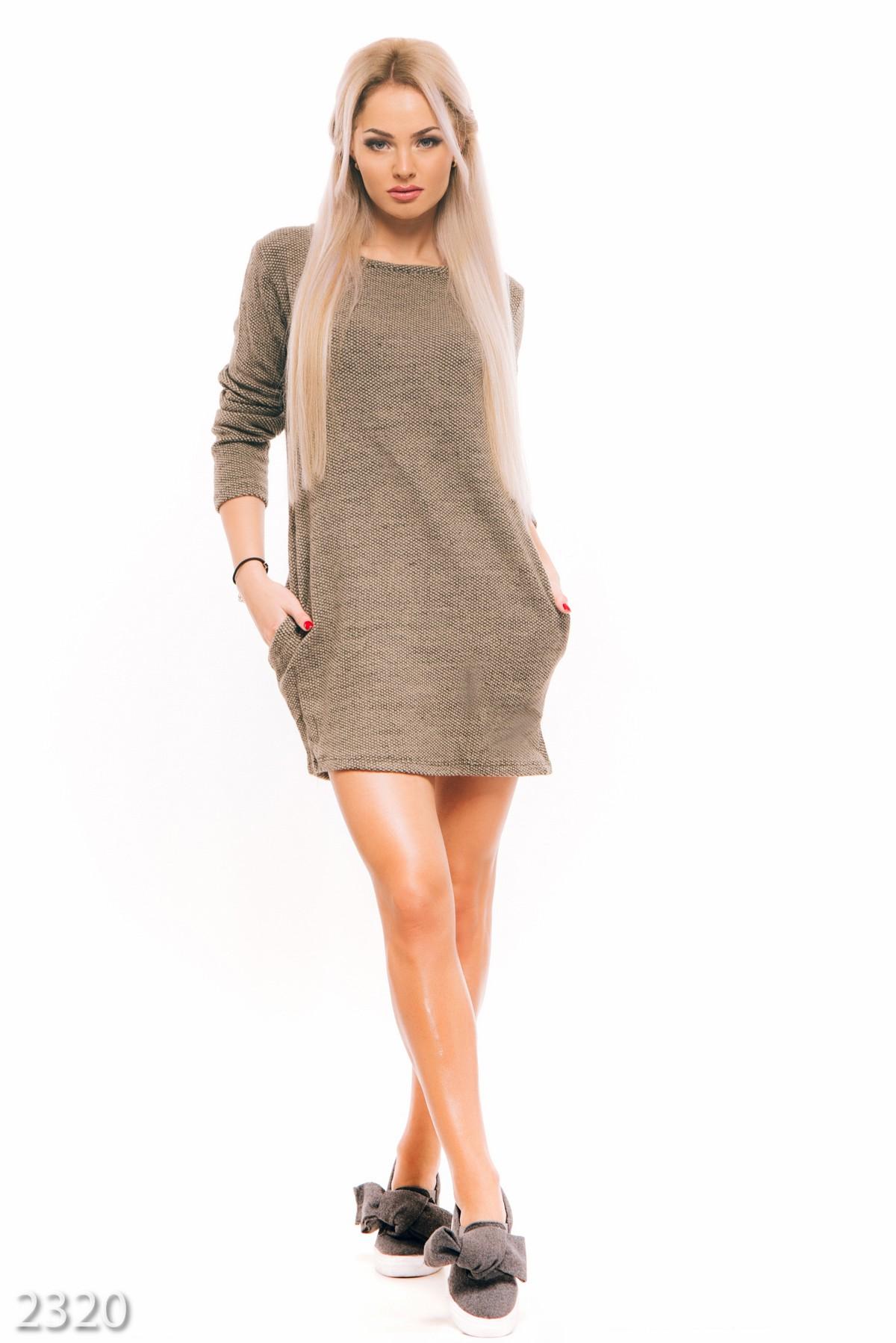 Elegance вязаное платье