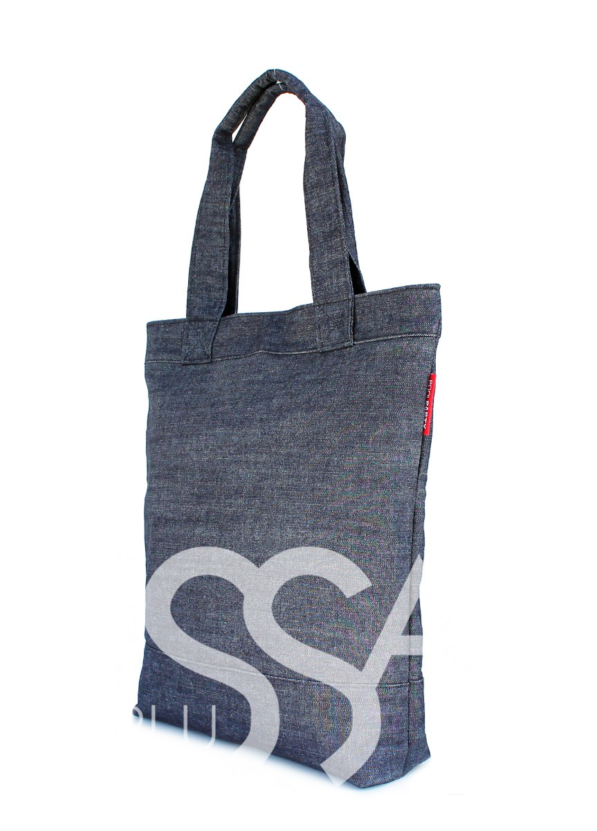 Джинсовая сумка для шоппинга