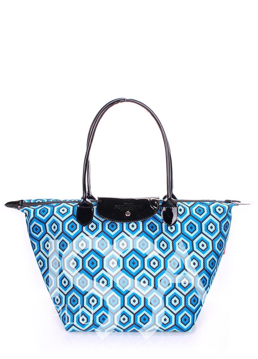Яркая летняя сумочка с клапаном