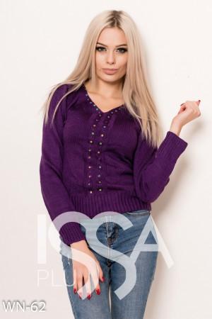 купить фиолетовый свитер женские свитера фиолетового цвета в