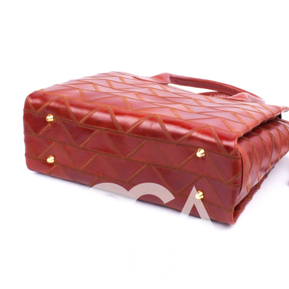 Оригинальная сумочка из натуральной кожи