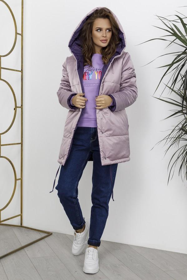 Стеганая куртка цвета хаки на синтепоне 73646 за 484 грн: купить из коллекции Аcme of Perfection - issaplus.com