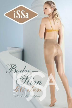 Колготки Body Slim 40 den цвета мокко