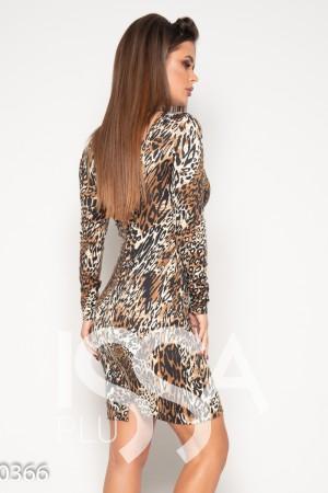 58c2a7b299c Женские платья трикотаж мультиколор цвет L размер  купить недорого в ...