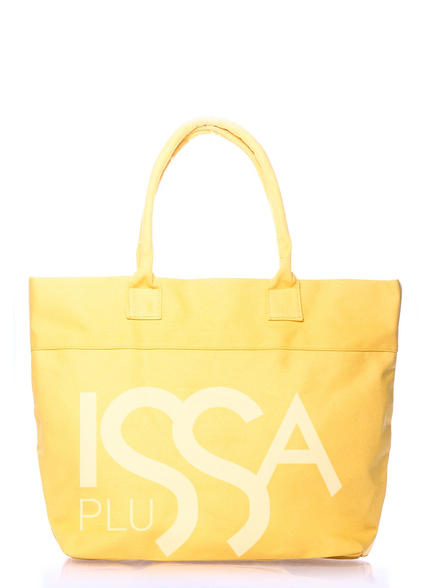 Коттоновая желтая сумка Paradise