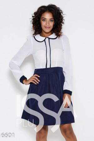 4a03bc54667 Женские платья комбинированные цвет белый  купить комбинированные ...