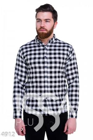 Рубашка в клетку мужская  купить рубашку в клетку в Украине в ... 09050c67150b3