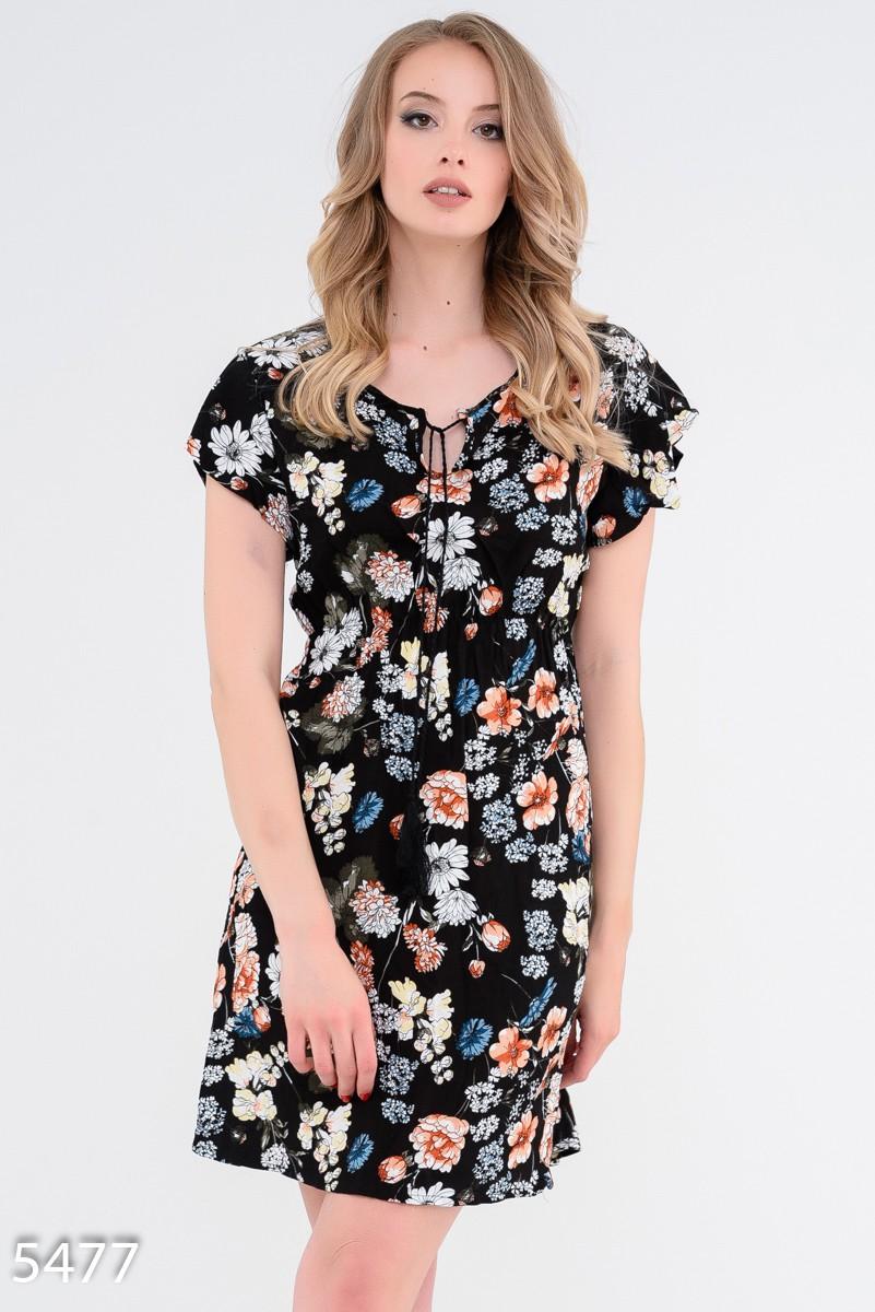 Нежные и романтичные платья с цветочным