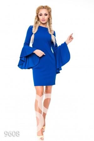 Платья синие на молнии