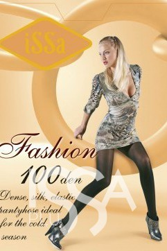 Колготки Fashion 100 den цвета мокко