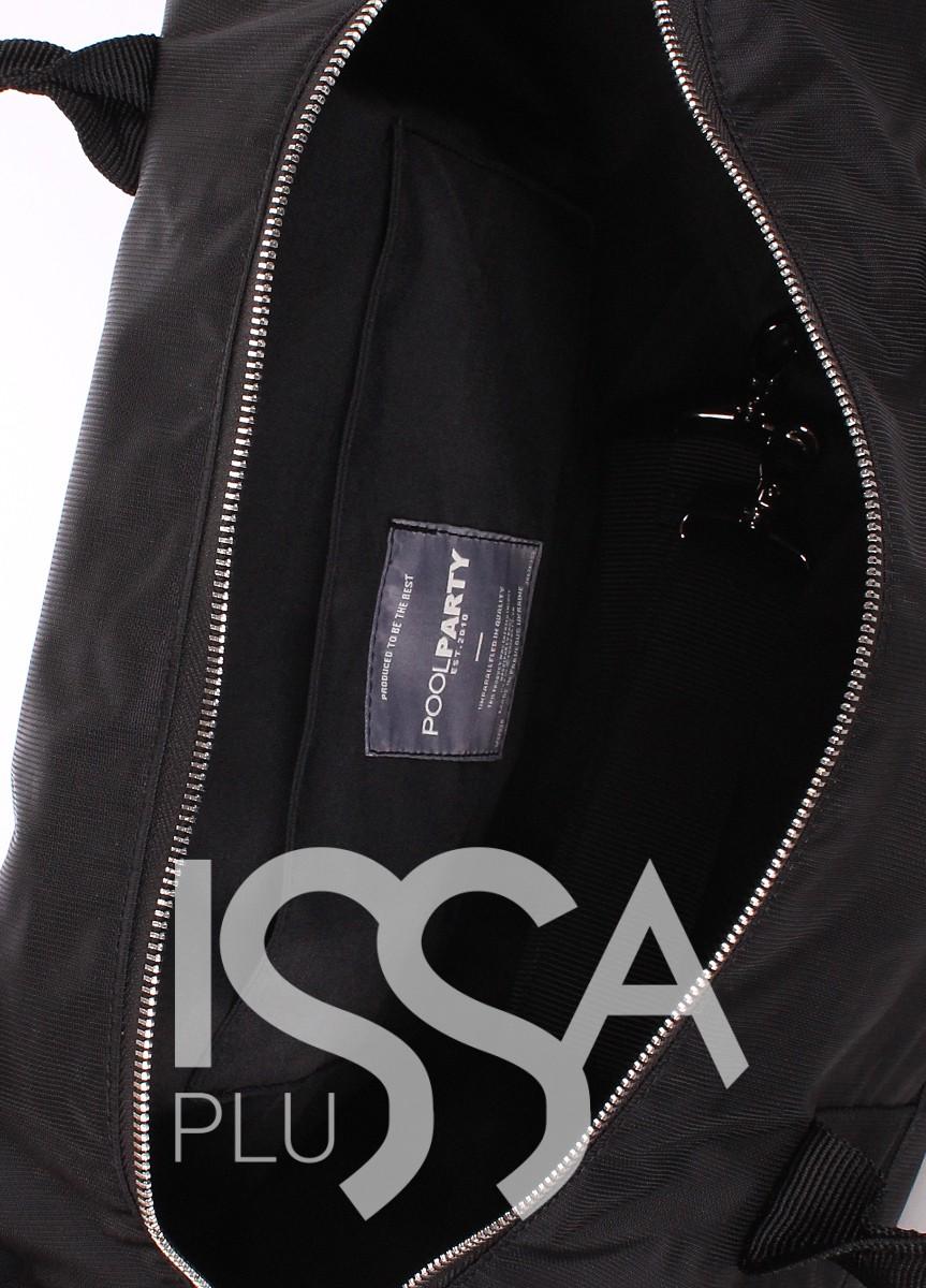 Спортивно-повседневная черная сумка