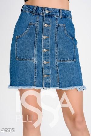e3d2fa208bd Джинсовые женские юбки  купить джинсовую юбку в Украине в интернет ...