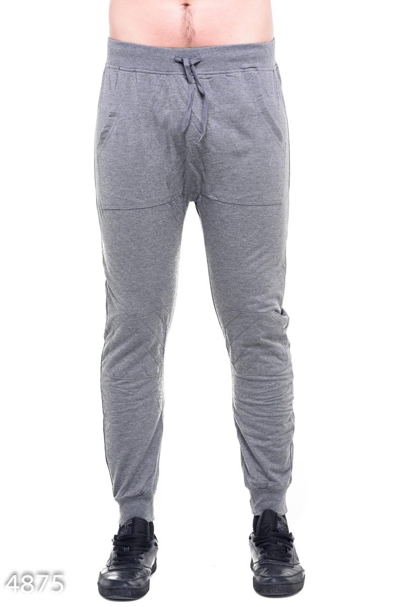 Серые мужские спортивные штаны с одним задним карманом  219 грн. фото 2 ... a3428e6633bf5