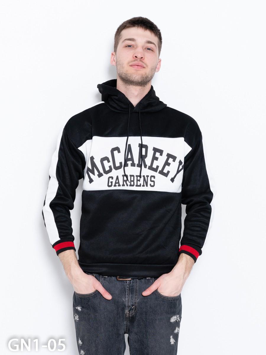 2929a355efe9 ISSAPlus|Черно-белая трикотажная толстовка с капюшоном-59984 купить ...