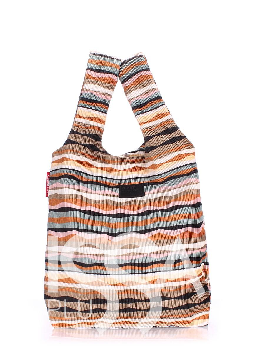 Вельветовая сумка-пакет