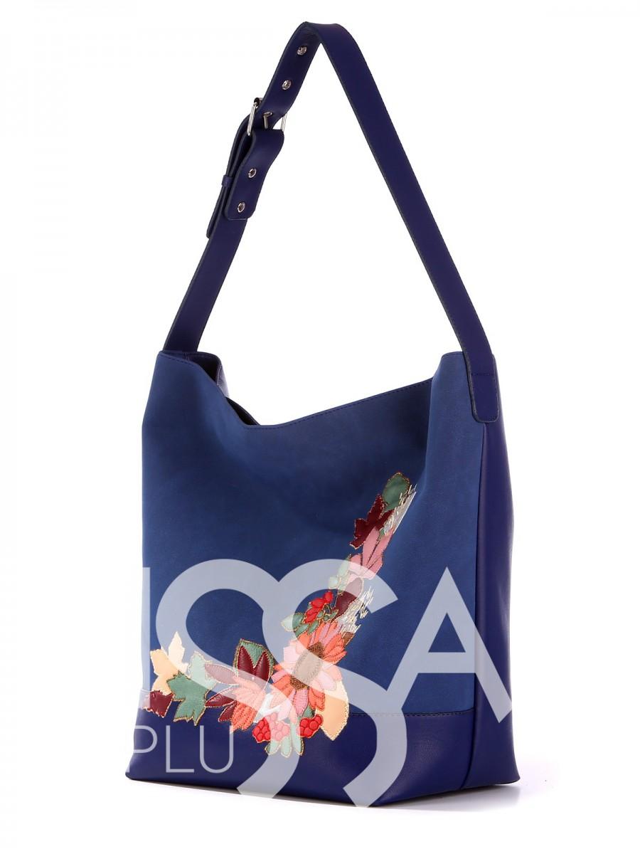 Дизайнерская сумочка с яркой вышивкой