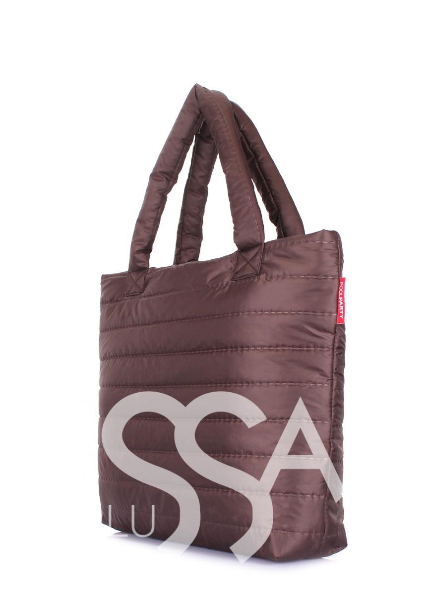 Дутая сумка в повседневном стиле